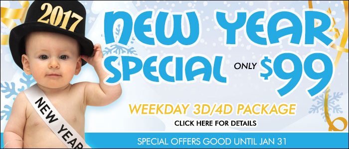 3D ultrasound weekday special for only $99